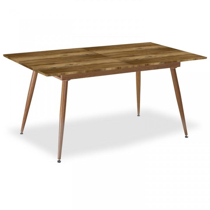 Table extensible scandinave Betty Chêne - 6 à 8 personnes