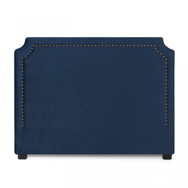 Tête de lit Diana Velours 160cm Bleu Foncé