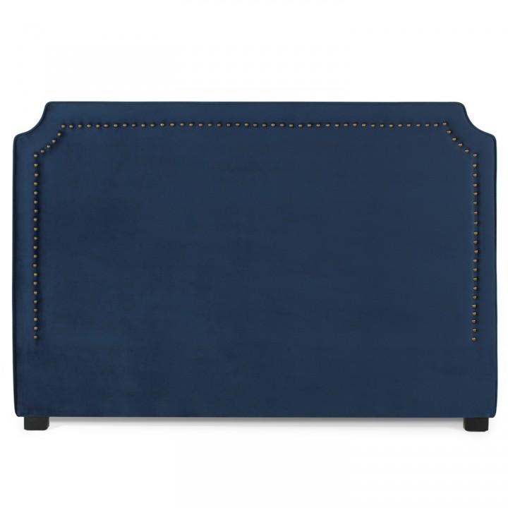 Tête de lit Diana Velours 180cm Bleu Foncé