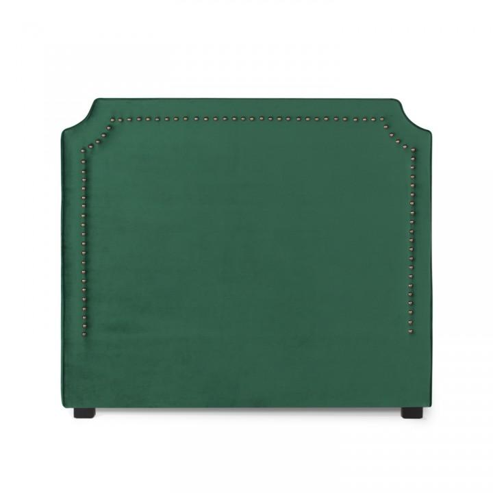 Tête de lit Diana Velours 140cm Vert