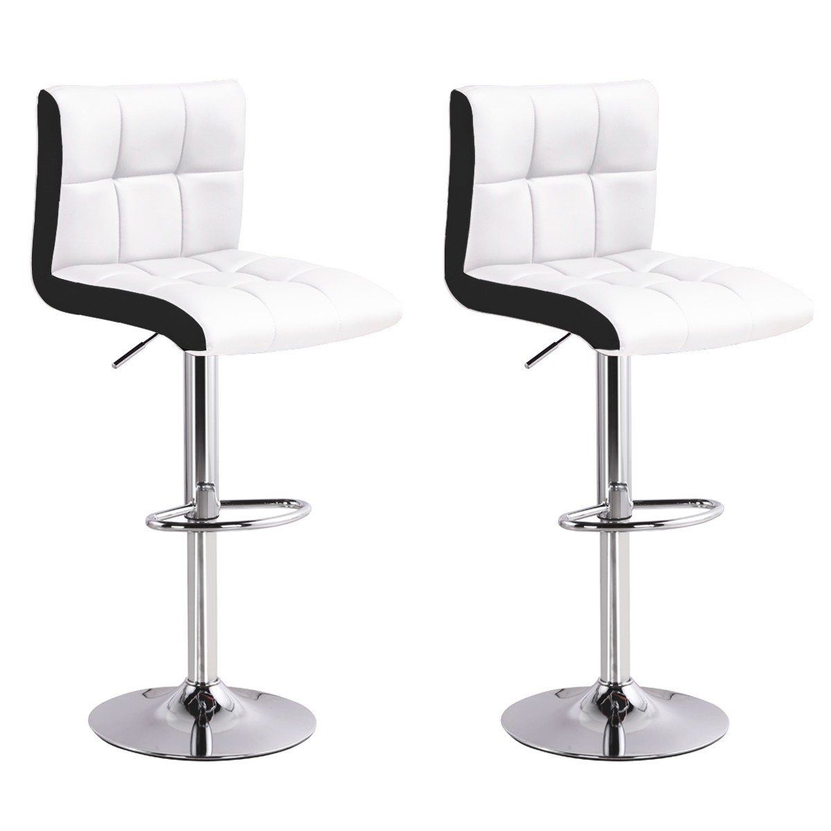 lot de 2 tabourets de bar magic blanc chaise de bar. Black Bedroom Furniture Sets. Home Design Ideas