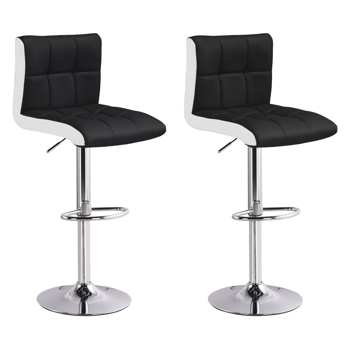 lot de 2 tabourets de bar magic noir chaise de bar chaise tabouret. Black Bedroom Furniture Sets. Home Design Ideas