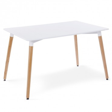 Table style scandinave Vosa Blanc
