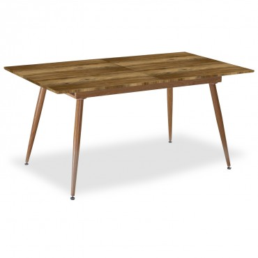 Table extensible scandinave Betty Chêne - 6 à 8 personnes