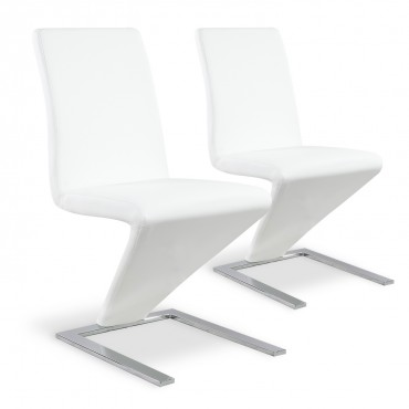 Lot de 2 chaises Delano