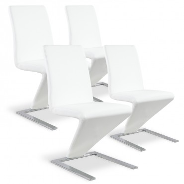 Lot de 4 chaises Delano