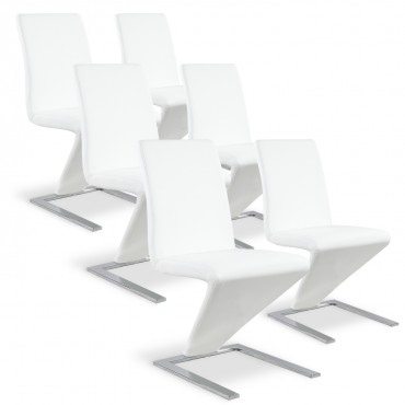 Lot de 6 chaises Delano