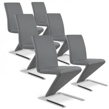 Lot de 6 chaises Delano
