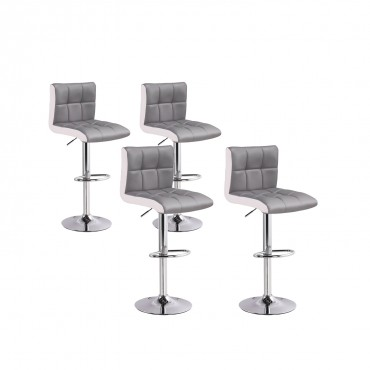 Lot de 4 tabourets de bar Magic
