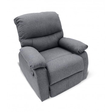 Fauteuil relax manuel Omis tissu