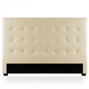 Tête de lit capitonnée Premium 180cm Beige