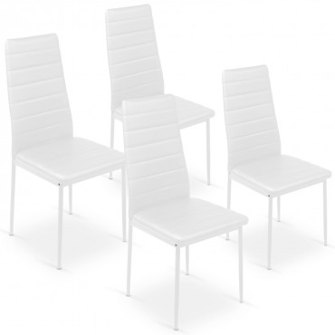 Lot de 4 chaises Strip