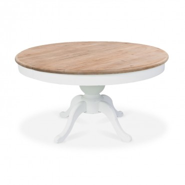 Table ronde en bois Sidonie