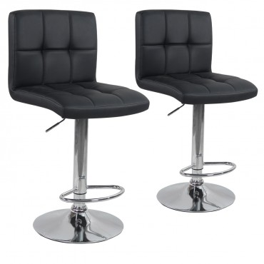 Lot de 2 tabourets de bar Elegant
