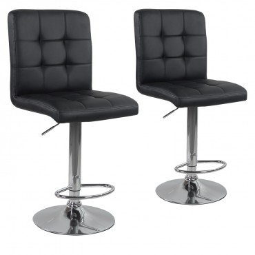 Lot de 2 tabourets de bar Max