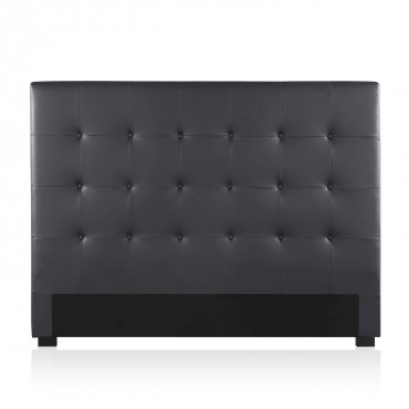 Tête de lit capitonnée Premium 160cm Noir