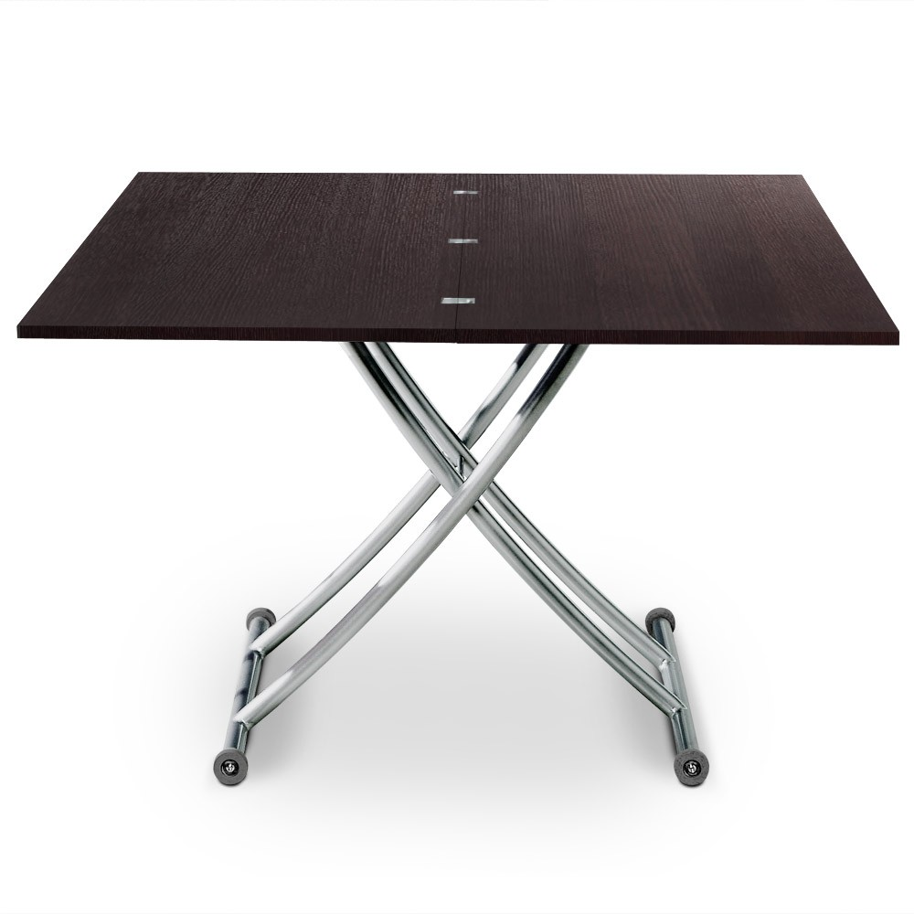 Table basse relevable philadelphia bois wenge tables - Petite table basse relevable ...