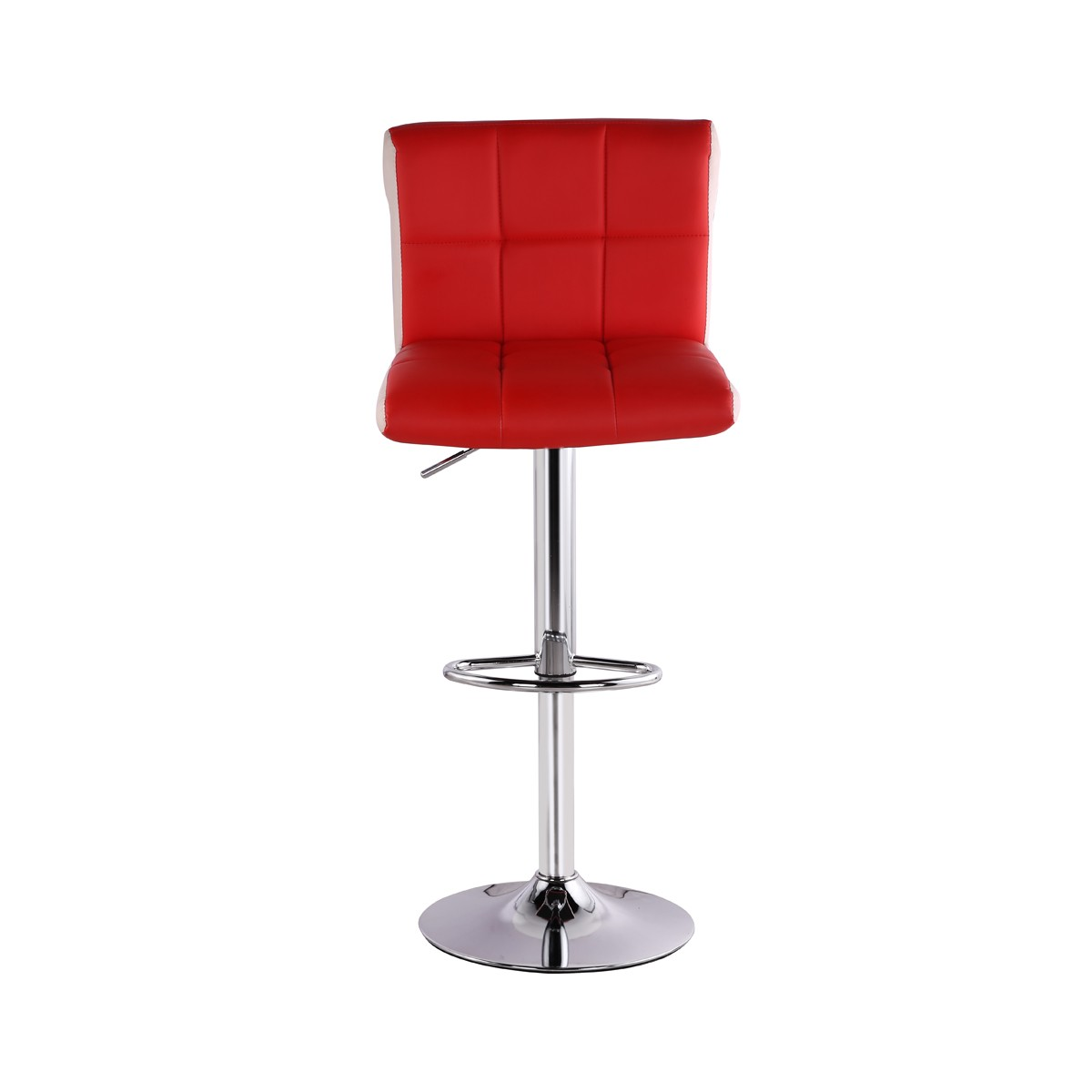 Lot de 2 tabourets de bar magic rouge chaise de bar for Chaise tabouret