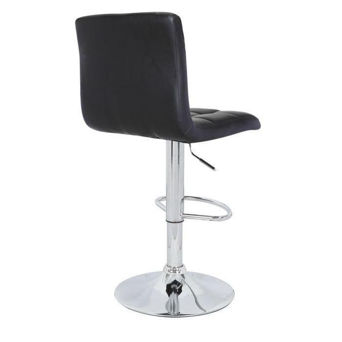 lot de 4 tabourets de bar max noir chaise de bar. Black Bedroom Furniture Sets. Home Design Ideas
