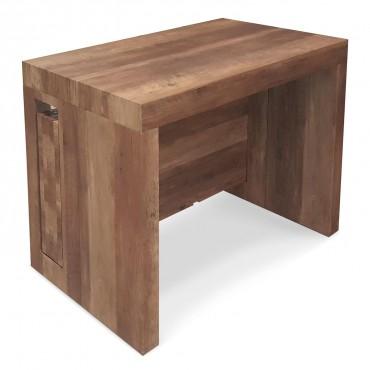 Table Console extensible Loki Chêne Vintage