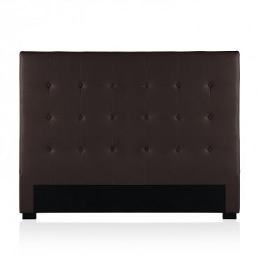 Tête de lit capitonnée Premium 160cm Marron