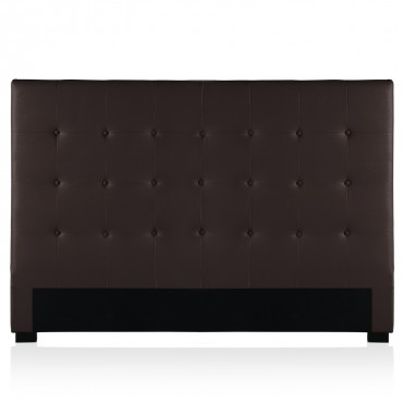 Tête de lit capitonnée Premium 180cm Marron