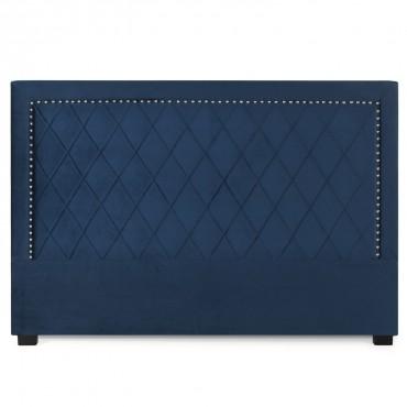 Tête de lit Nolwen Velours Bleu Foncé 180cm