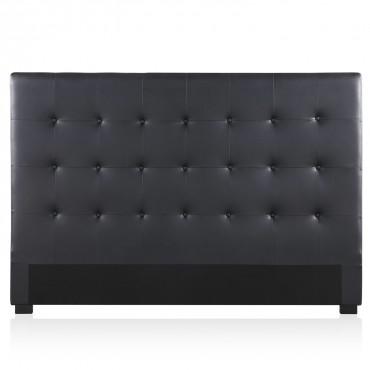 Tête de lit capitonnée Premium 180cm Noir